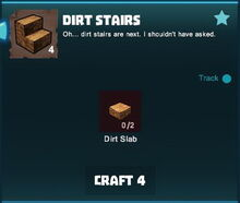 Creativerse stairs crafting R36 408