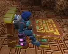 Creativerse X hidden temple chair003 and table2