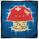 Mushroom House Game Icon