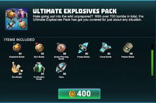Creativerse R41,5 ultimate explosives pack1