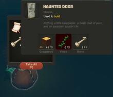Creativerse Halloween finds035 Haunted Door