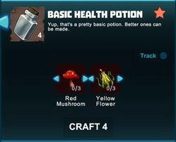 Creativerse R41 crafting recipes basic health potion01