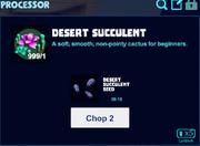 Desert succulent processor
