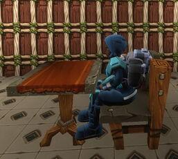 Creativerse R38 stone chair sitting002