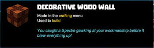 Creativerse tooltips R40 004 wood blocks crafted