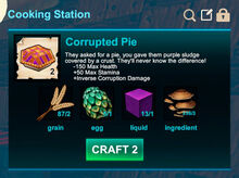 Cooking station-Pie-Corrupted pie-R50