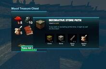 Creativerse 2017-08-17 treasure chest with rare recipe