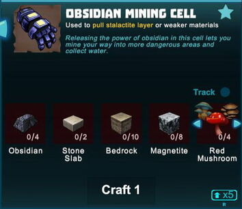 Creativerse obsidian mining cell 2018-08-26 10-45-14-12
