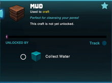 Creativerse mud crafting unlocked by water 2019-04-21