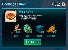 Cooking station-Pie-Melon pie-R50