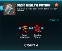 Creativerse R41 crafting recipes basic health potion02