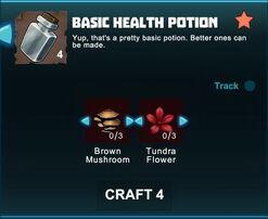 Creativerse R41 crafting recipes basic health potion02