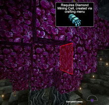Creativerse corrupted leaves diamond mining cell 2018-07-09 12-04-54-39