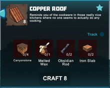 Creativerse crafting recipes roofs R41,5 15