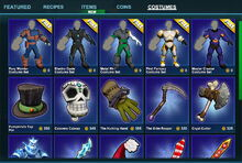 Creativerse costumes unclaimed 01