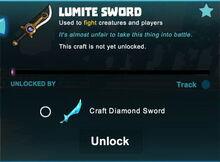 Creativerse sword unlocks R43 44