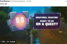 Creativerse QB announcement twitter 638