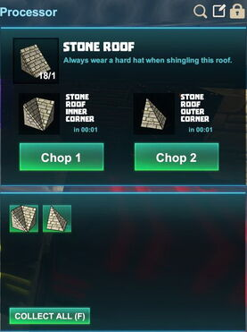 Creativerse R41,5 processing corners for roofs 502