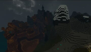 Creativerse mountains canyons night002