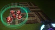 Creativerse red mushrooms fertilized growing from spores 2019-02-01 01-32-34-57
