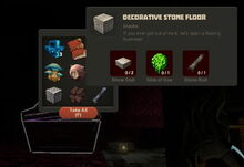 Creativerse Decorative Stone Floor Diamond Chest488