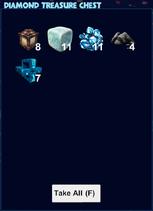 Diamond treasure chest loot
