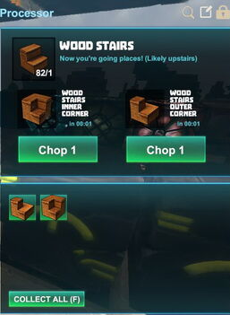 Creativerse R41,5 processing corners for stairs 521