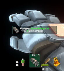 Creativerse armor doll equipped stone mining cell 2018-09-13 12-21-53-39