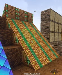 Creativerse X hidden temple roof663