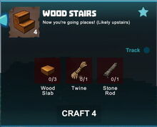 Creativerse crafting recipes R41,5 stairs23