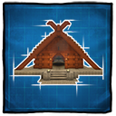 Viking Longhouse Icon