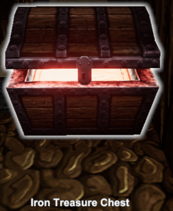Iron treasure chest