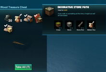 Creativerse wood treasure chest with recipe 2017-12-19 13-54-07-64 treasure chest
