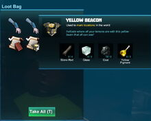 Creativerse beacon yellow 2017-12-27 17-46-03-84 Thing loot