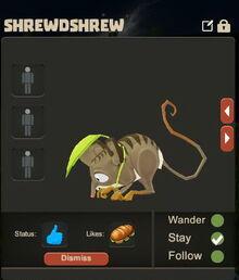 Creativerse Shrewdshrew Pet eating3003