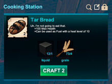 Cooking station-Bread-Tar bread-R50