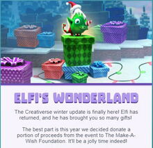 01 Creativerse Elfi's Wonderland update is here 2018-12-23 21-31-54-40