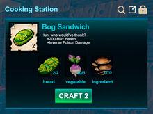 Cooking station-Sandwich-Bog sandwich-R50