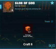 Creativerse orange glob of goo crafting 2018-12-20 10-31-32-22
