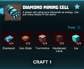 Creativerse R41 crafting recipes 2017-05-02 04-01-30-07 diamond mining cells