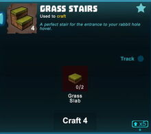 Creativerse grass stairs crafting 2018-10-07 16-16-37-70