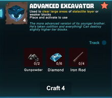 Creativerse 2017-07-07 18-14-05-83 crafting recipes R44 excavators