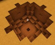 Creativerse R41 Advanced TNT detonated 4 blocks deep