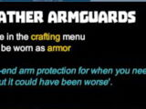 Leather Armguards