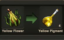 Creativerse Yellow Flower pigment001