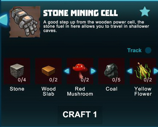Creativerse R41 crafting recipes 2017-05-02 04-01-30-01 stone mining cells