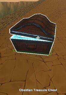 Creativerse Obsidian Treasure Chest1335
