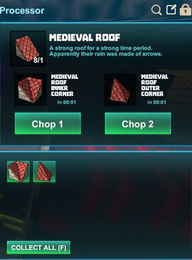 Creativerse R41,5 processing corners for roofs 506