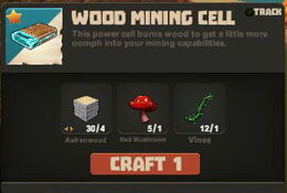 Creativerse Wood Mining Cells R26 49