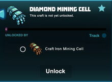Creativerse unlocks R41 diamond mining cell01